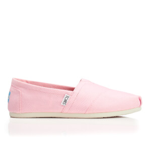 TOMS Women's Seasonal Classic Slip-On Pumps - Pink Icing Canvas