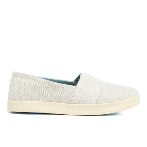 TOMS Women's Avalon Coated Canvas Slip-On Pumps - Natural Yarn Dye