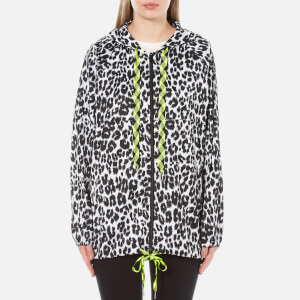 Marc Jacobs Women's Leopard Print Hooded Jacket - Bone