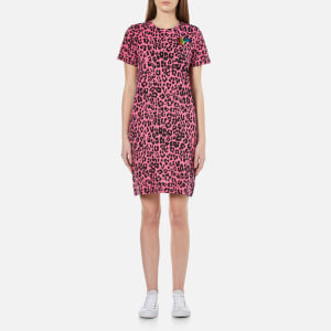 Marc Jacobs Women's Printed Patchwork Dress - Pink/Multi
