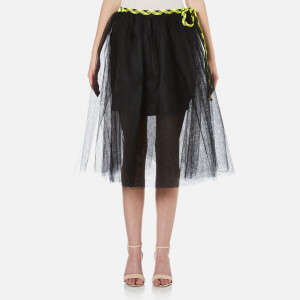 Marc Jacobs Women's Tulle Midi Skirt - Black