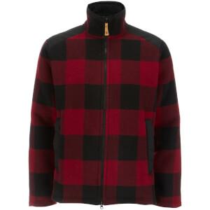 Fjallraven Men's Woodsman Jacket - Red/Dark Grey