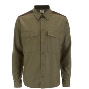 Fjallraven Men's Ovik Wool Shirt - Olive