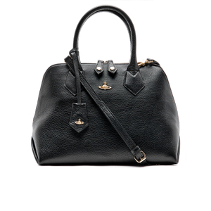 Vivienne Westwood Women's Balmoral Grain Leather Zip Around Tote Bag - Black