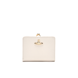 Vivienne Westwood Women's Opio Saffiano Wallet with Coin Pocket - Beige
