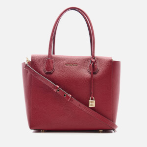 MICHAEL MICHAEL KORS Women's Mercer Large Satchel - Cherry