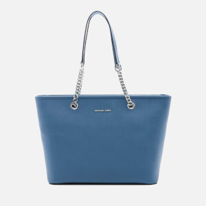 MICHAEL MICHAEL KORS Women's Jet Set Travel Chain Top Zip Tote Bag - Denim