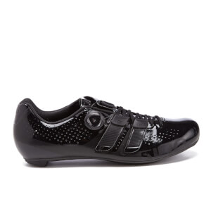 Giro Factor Techlace Road Cycling Shoes - Black