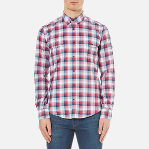 Barbour X Steve McQueen Men's Bullet Shirt - Rich Red
