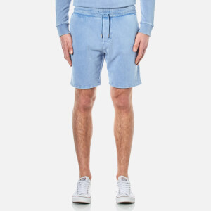 BOSS Orange Men's Syd Sweat Shorts - Open Blue