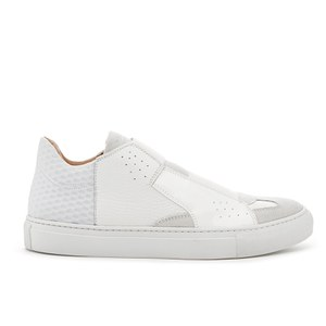 MM6 Maison Margiela Women's Elastic Strap Trainers - White
