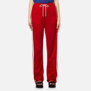 MM6 Maison Margiela Women's Side Stripe Joggers - Red Cali Co