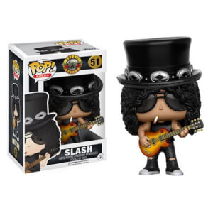Pop! Rocks: Guns N' Roses - Slash Figura Pop! Vinyl