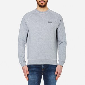 Barbour International Men's Small Logo Sweatshirt - Grey Marl