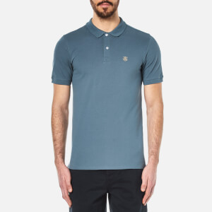 Selected Homme Men's Daro Polo Shirt - Blue Mirage