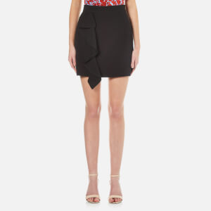 MSGM Women's Ruffle Skirt - Black