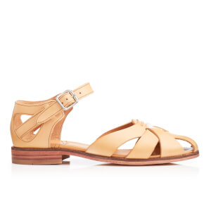 H Shoes by Hudson Women's Tilda Leather Sandals - Nude