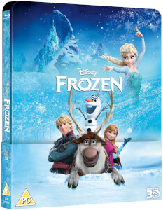 Frozen 3D (Includes 2D Version) - Zavvi UK Exclusive Lenticular Edition Steelbook (The Disney Collection #52)