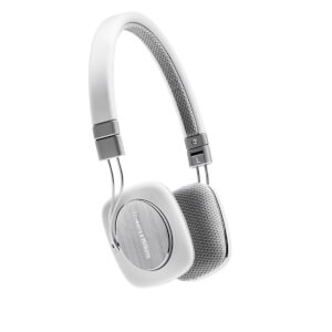 Bowers & Wilkins P3 On-Ear Headphones - White - Manufacturer Refurbished
