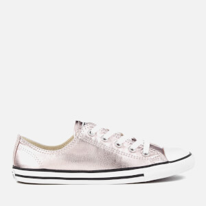 Converse Women's Chuck Taylor All Star Dainty Ox Trainers - Rose Quartz/Black/White