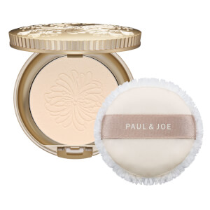 Paul & Joe Pressed Face Powder Case wih Powder Puff