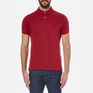 Polo Ralph Lauren Men's Custom Fit Polo Shirt - Eaton Red