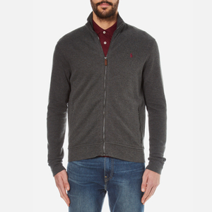Polo Ralph Lauren Men's Rib Cotton Jacket - Bristol Heather