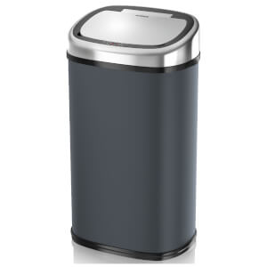 Tower Square Sensor Bin 58L - Charcoal