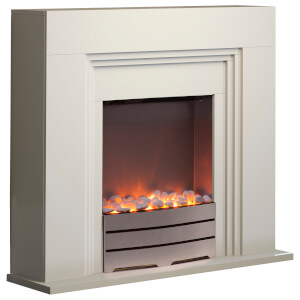 Warmlite WL45011 York Fireplace Suite - Ivory