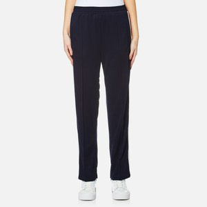 Ganni Women's Naoki Polo Track Pants - Total Eclipse
