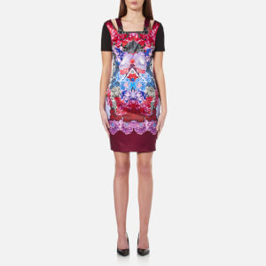 Versace Jeans Women's Multi Print Dress - Wisteria