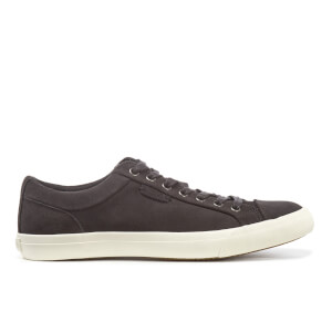Polo Ralph Lauren Men's Geffrey Suede Court Trainers - Charcoal