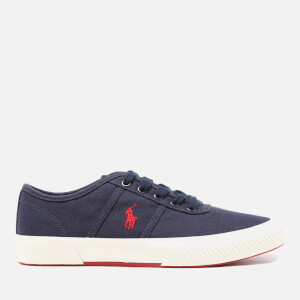 Polo Ralph Lauren Men's Tyrian Vulcanised Canvas Trainers - Newport Navy