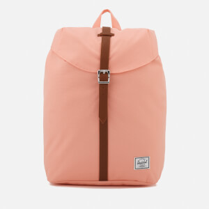 Herschel Supply Co. Post Mid-Volume Backpack - Apricot Blush/Tan Synthetic Leather