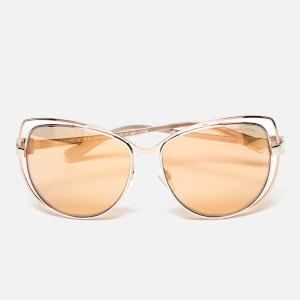 MICHAEL MICHAEL KORS Women's Audrina I Sunglasses - Silver/Rose Gold