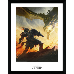 Skyrim Daedric Armor Framed Photographic - 16