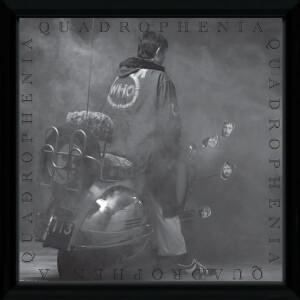 The Who Quadrophenia Framed Album Cover - 12
