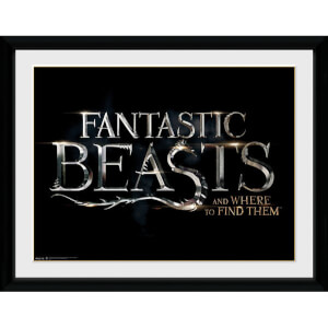 Fantastic Beasts Logo Framed Album Cover - 12