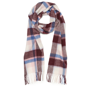 Barbour Women's Country Plaid Scarf - Pink Plaid