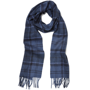 Barbour Holden Tartan Scarf - Blue