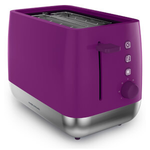 Morphy Richards 221111 Chroma 2 Slice Toaster - Orchid
