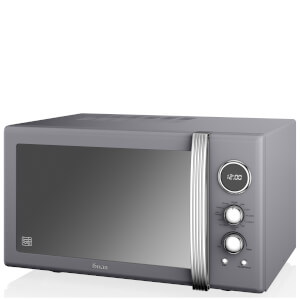 Swan 25L Digital Combi Microwave - Grey