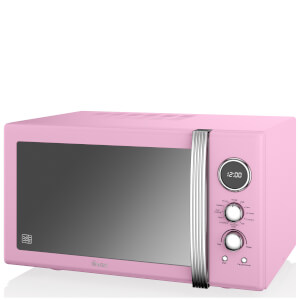 Swan 25L Digital Combi Microwave - Pink