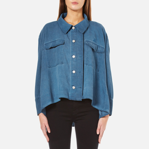Vivienne Westwood Anglomania Women's New Pillow Shirt Jacket - Blue Denim