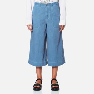 Vivienne Westwood Anglomania Women's Wave Culottes - Blue Denim