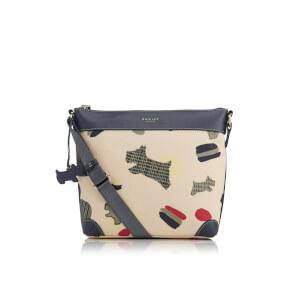 Radley Women's Dash Dog Medium Ziptop Cross Body Bag - Ivory