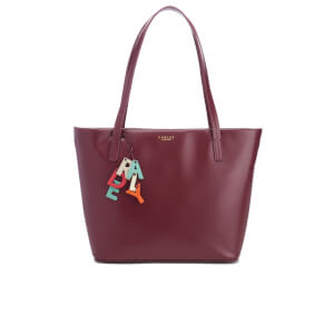 Radley Women's De Beauvoir Large Ziptop Tote Bag - Burgundy