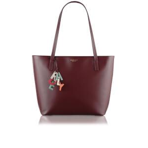 Radley Women's De Beauvoir Large Ziptop Tote Bag - Burgundy