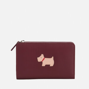 Radley Women's Heritage Dog Medium Zip Purse - Burgundy