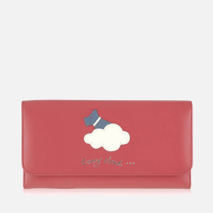 Radley Women's Silver Lining Large Trifold Mantinee Purse - Pink